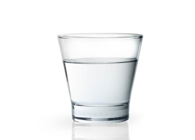 Bicchiere con acqua Foto Premium