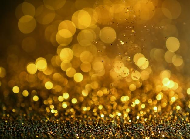 Sfondo di luci vintage glitter defocused.