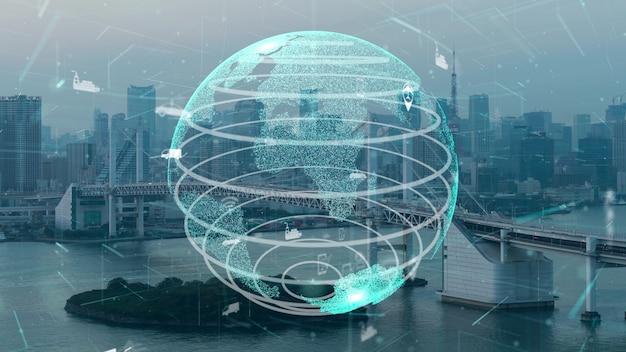 Connessione globale e modernizzazione della rete internet nella smart city