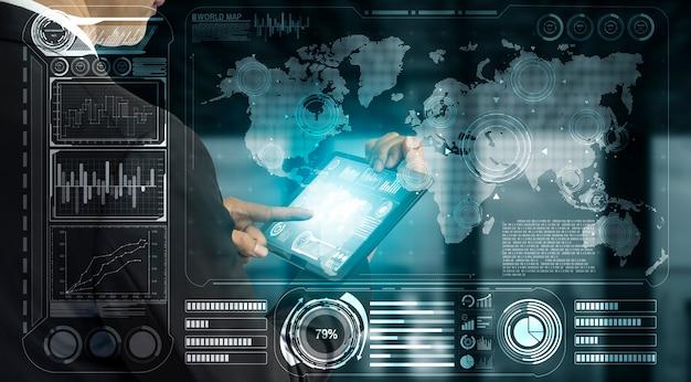 Analisi delle finanze globali e concetto di ricerca sui big data