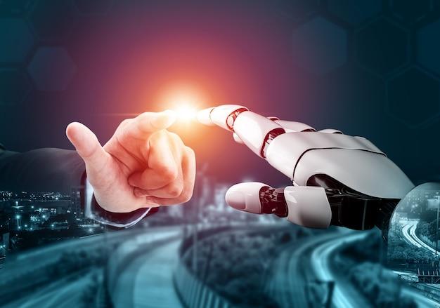 Ricerca scientifica bionica robotica globale per il futuro della vita umana.