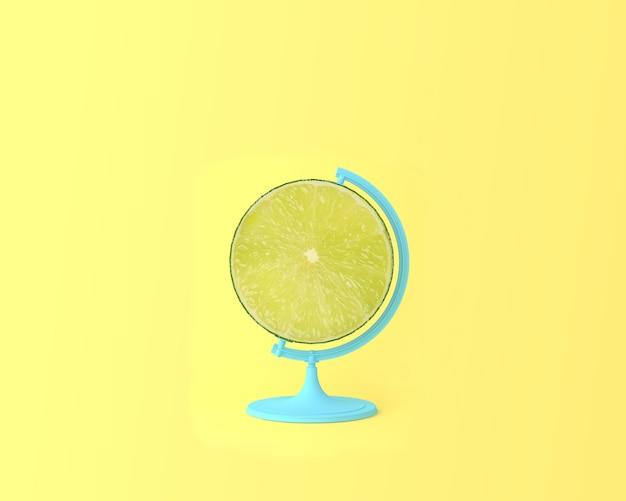 Globo sfera globo limone