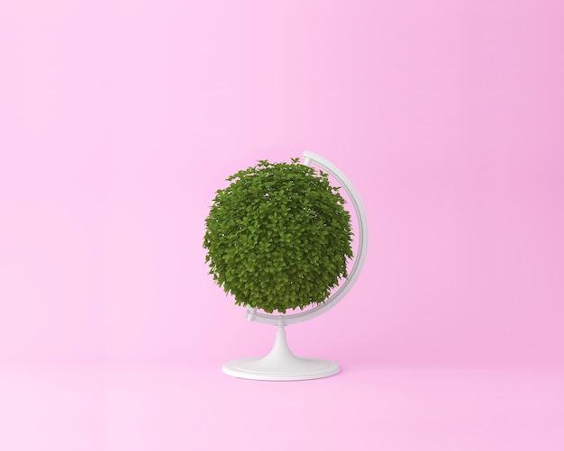 Concetto di pianta globo sfera globo