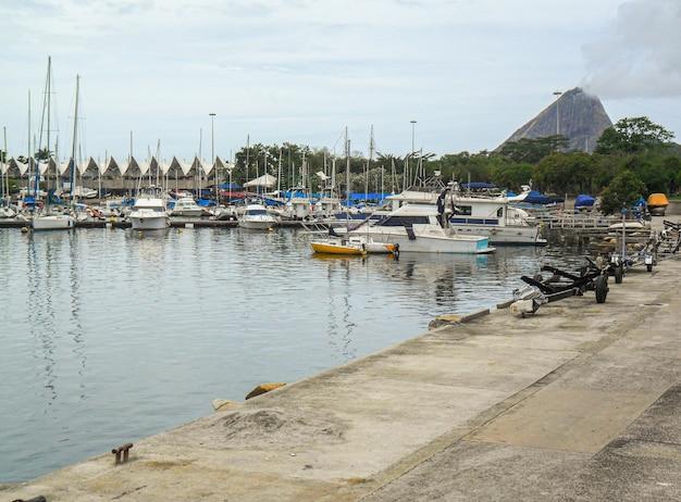Marina di gloria a rio de janeiro, brasile.