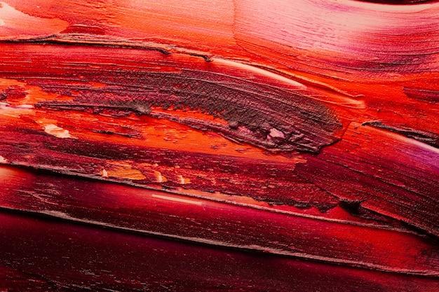 Lucida multi texture di sfondo rossetto colorato sbavato