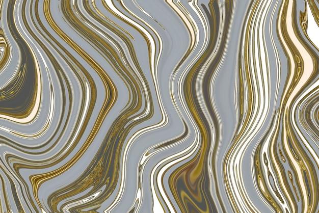 Fondo astratto di marmo grigio e oro