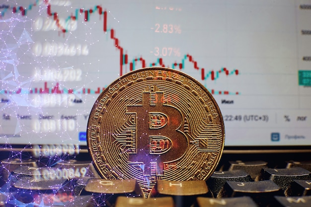 bitcoin bicchierini grafico
