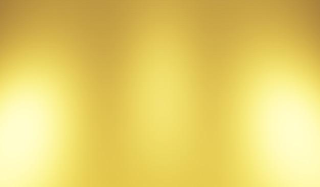 Oro sfocato sfondo texture astratta. rendering 3d