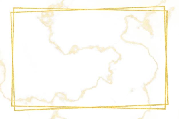 Motivo in marmo bianco bordo oro e rivestimento interno e pavimento di lusso