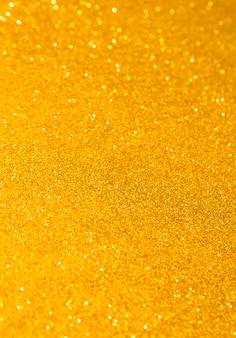 Glitter scintillanti d'oro Foto Premium