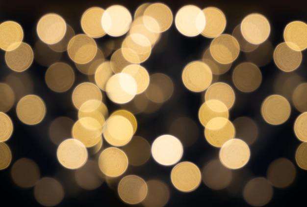 Carta da parati glitter oro con texture per natale o capodanno o festival