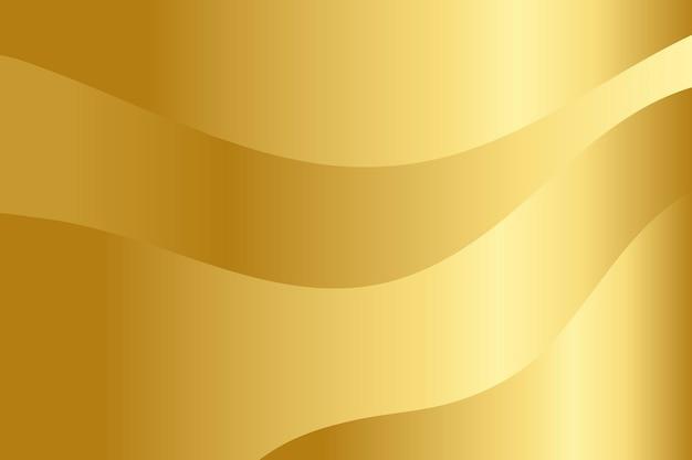 Sfondo con motivo a strati sfumati d'oro