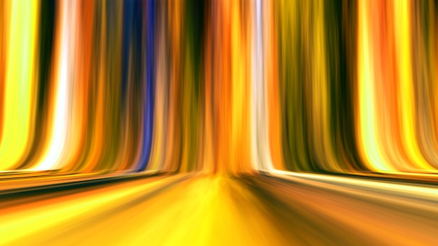 Sfondo chiaro astratto sfumato a strisce linea oro