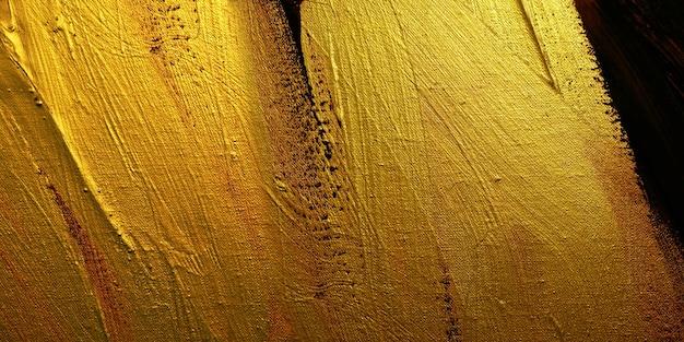 Illustrazione di progettazione di struttura del fondo dell'estratto della pittura ad olio dell'oro