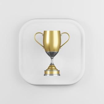 Icona della coppa trofeo d'oro