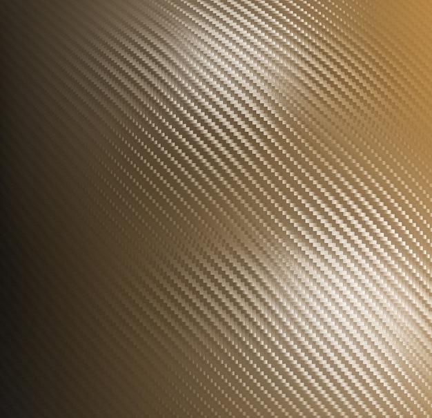Sfondo dorato in fibra di carbonio
