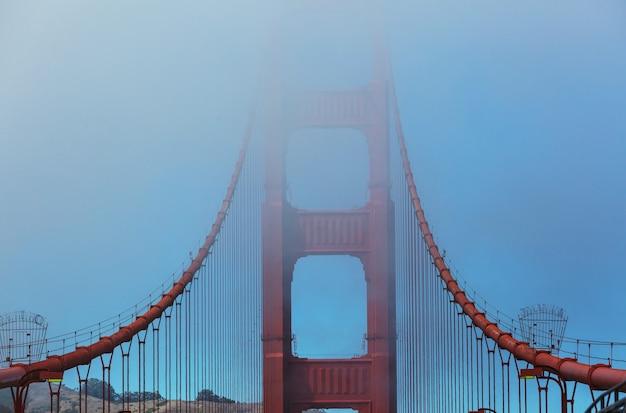 Golden gate bridge di san francisco, california, usa