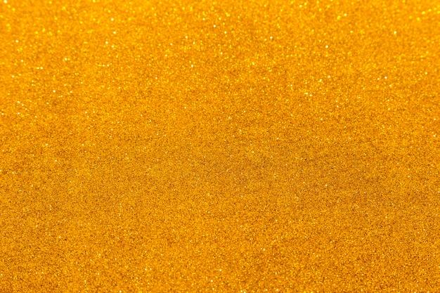 Scintillio dorato scintillante Foto Premium