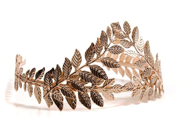 Diadema a foglia d'oro