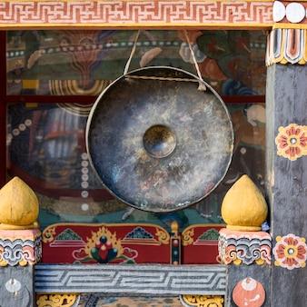 Gong a rinpung dzong, distretto di paro, bhutan