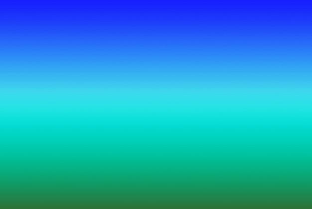 Strisce orizzontali colorate blu e verdi sfumate per uno sfondo astratto