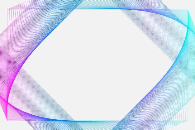 Illustrazione di sfondo lineare surreale sfumato