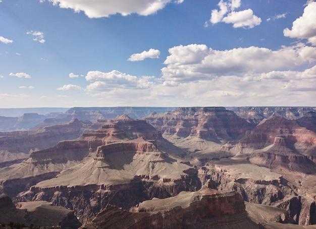 Sul grand canyon del colorado