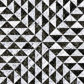 Piastrelle per pavimenti in granito. mosaico in pietra naturale.