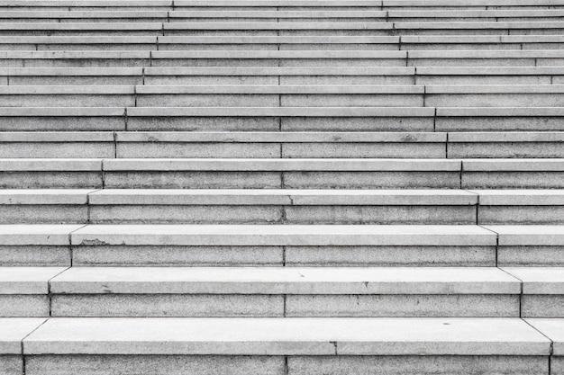 Priorità bassa di passaggi di scale di granito