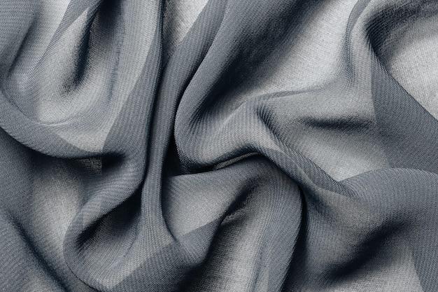 Colore di tendenza del fondo di struttura del tessuto di stoffa grigia 2021