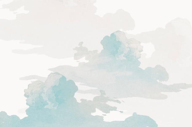 Risorsa di progettazione di sfondo grigio cielo nuvoloso