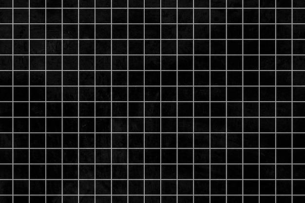 Motivo a griglia grigia su sfondo nero