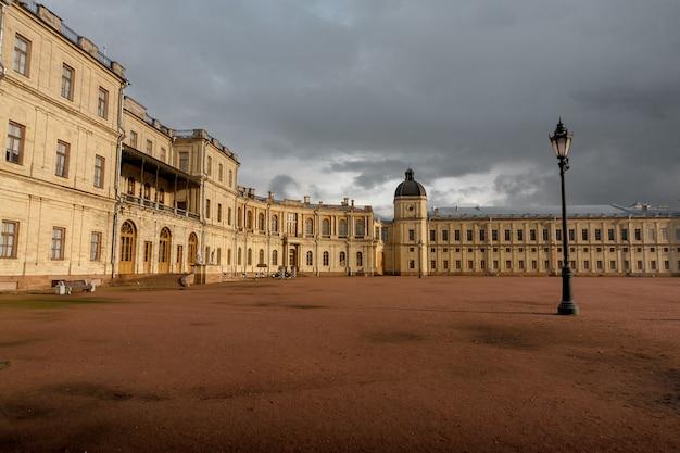 Grande palazzo gatchina non lontano da san pietro in russia