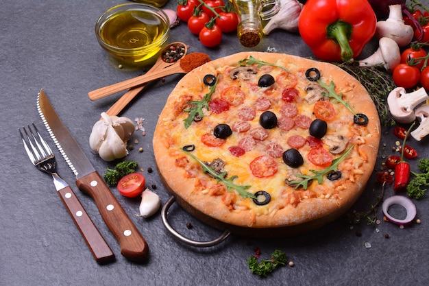 Ottima pizza italiana?