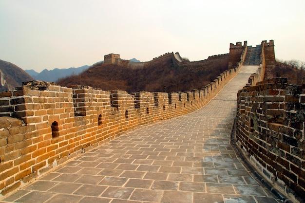 La grande muraglia cinese, cina. asia