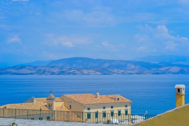 Grecia corfù 01082020 la zona di faliraki città vecchia corfù