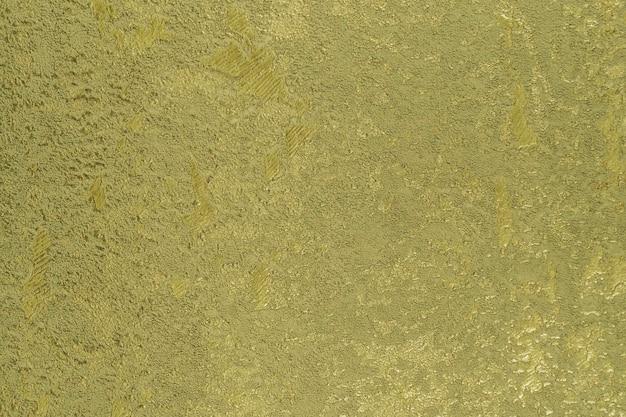 Carta da parati astratta verde in tessuto con struttura metallica grunge