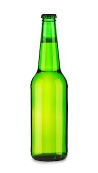 Bottiglia di birra verde