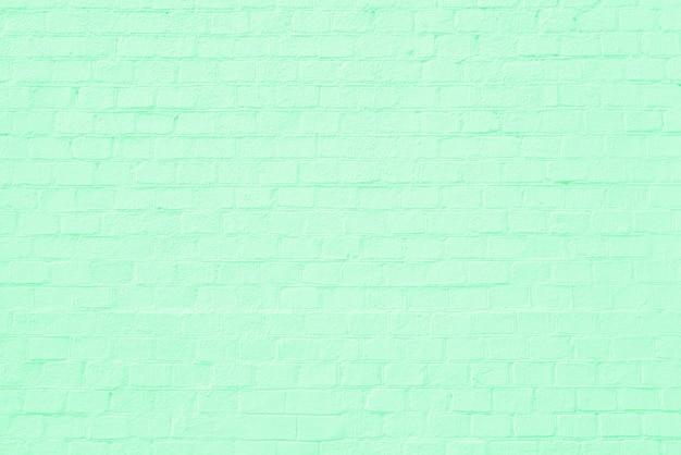 Muro di costruzione di mattoni verdi. interno di un loft moderno. sfondo per il design