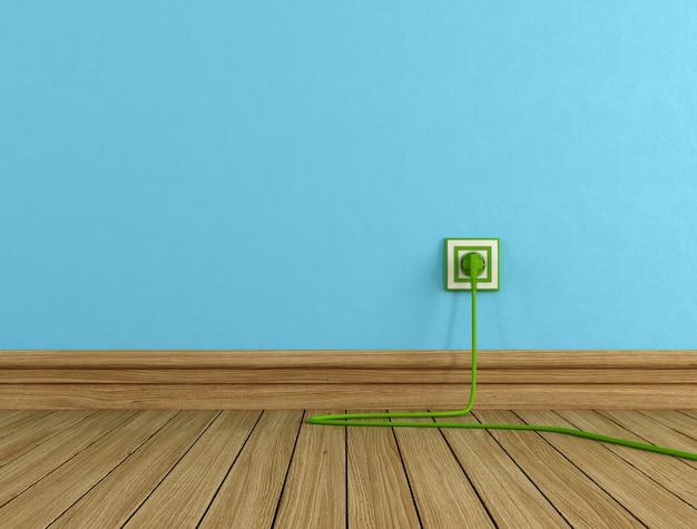 Concetto di energia verde