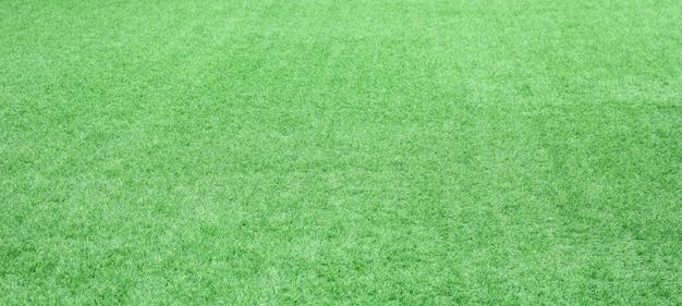 Priorità bassa di struttura dell'erba verde. paesaggio di erba dello stadio.