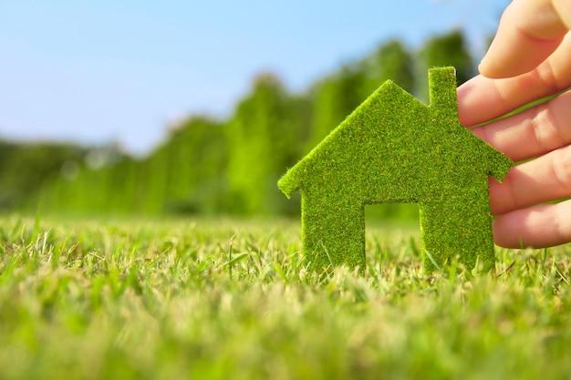 Icona della casa verde