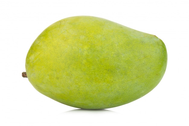 Mango verde isolato