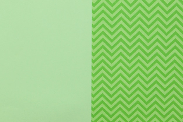 Motivo verde e superficie liscia