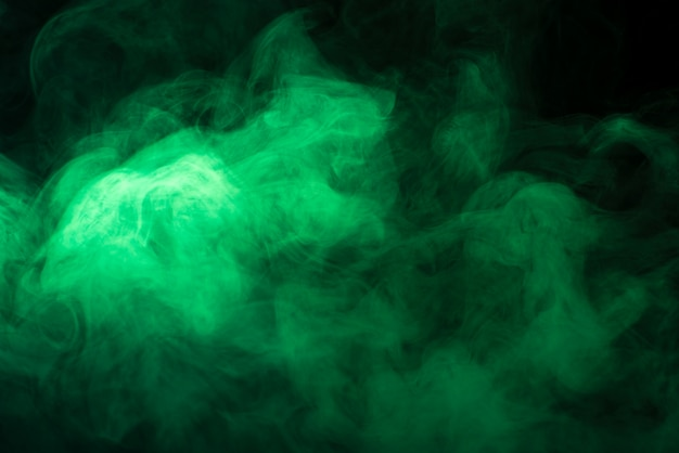Priorità bassa verde del nero di struttura del fumo