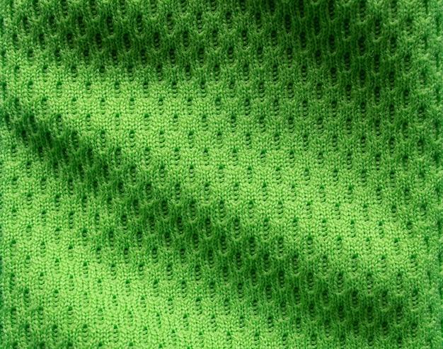 Maglia da calcio in tessuto per abbigliamento sportivo verde