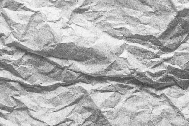 Priorità bassa strutturata di carta sgualcita grigia