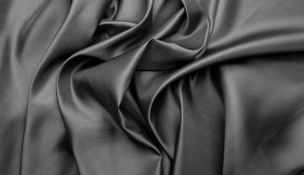 Tessuto grigio texture di sfondo, astratto, closeup texture di stoffa