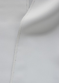 Tessuto grigio con cucitura