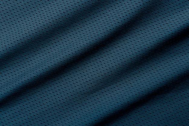 Sfondo di abbigliamento sportivo trama di tessuto di maglia da calcio grigio